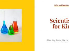 'Scientists for kids' is displayed against a white background.