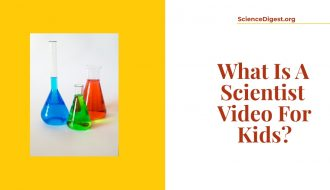 'what is a scientist video for kids' is displayed against a white background.