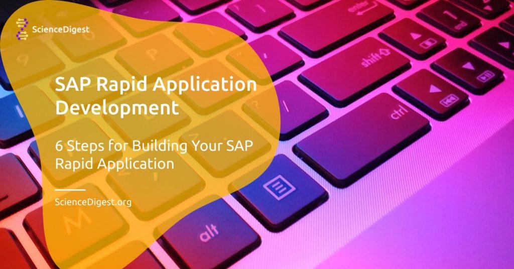 SAP Rapid Application Development